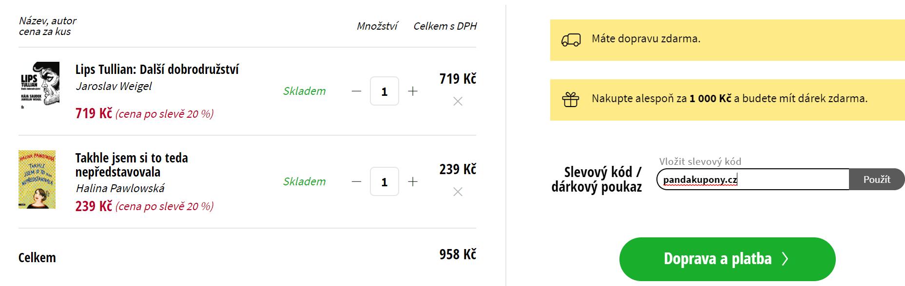 Slevový kód Albatrosmedia