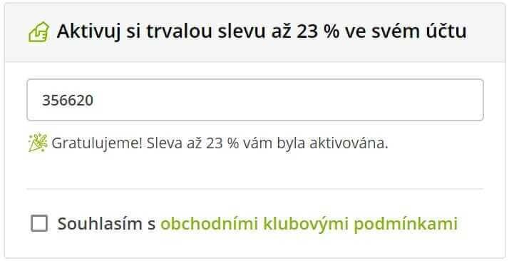 Slevový kód 23% do Dedra