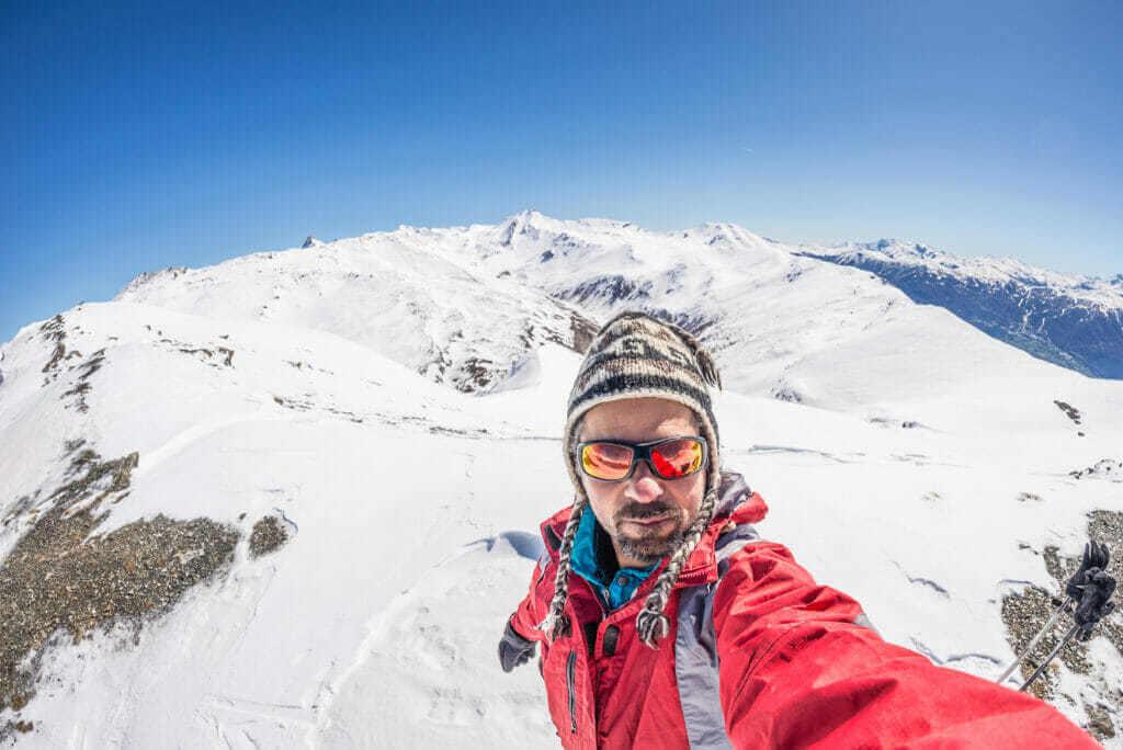 Sluneční brýle pro vysokohorskou turistiku