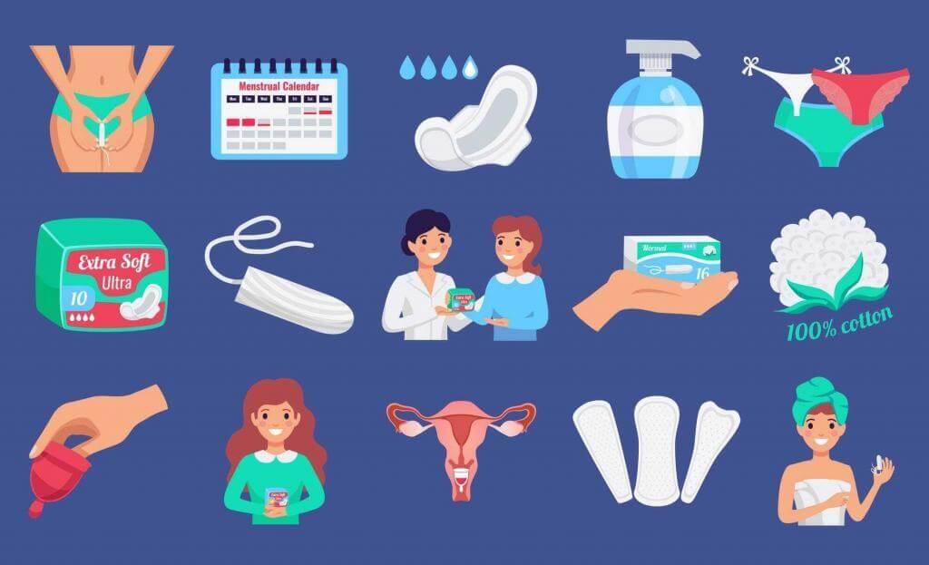 Pomůcky pro menstruaci