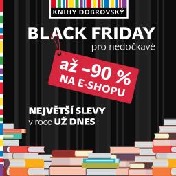 Black Friday na KnihyDobrovsky
