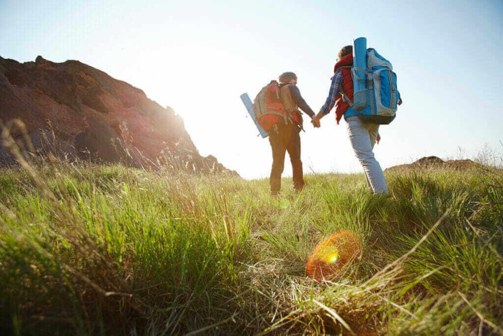 taking path mountains