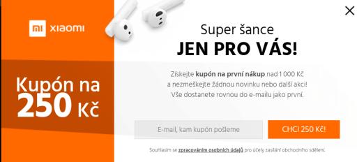slevovy kupon XiaomiCesko