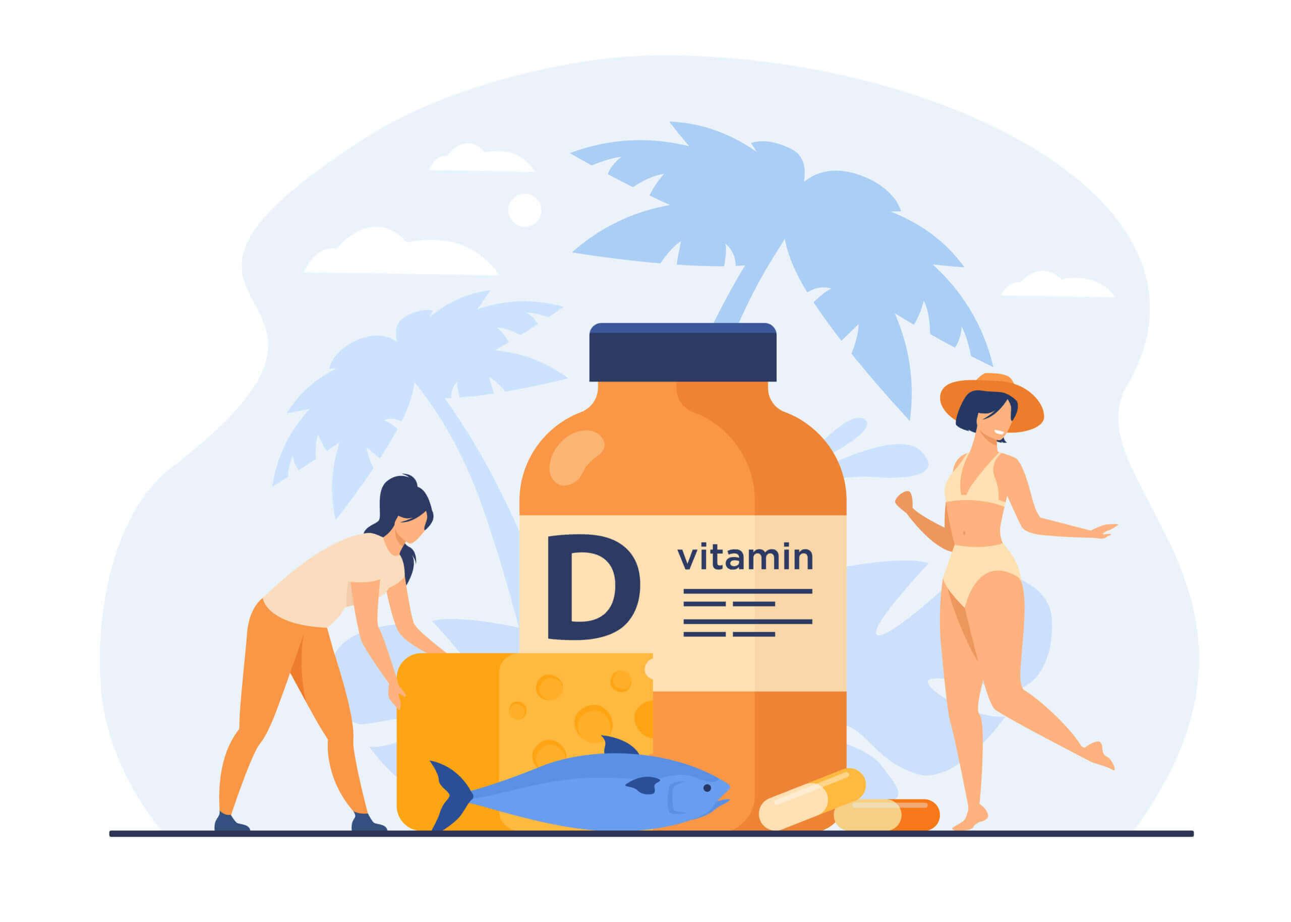 Působení vitaminu D na Covid-19