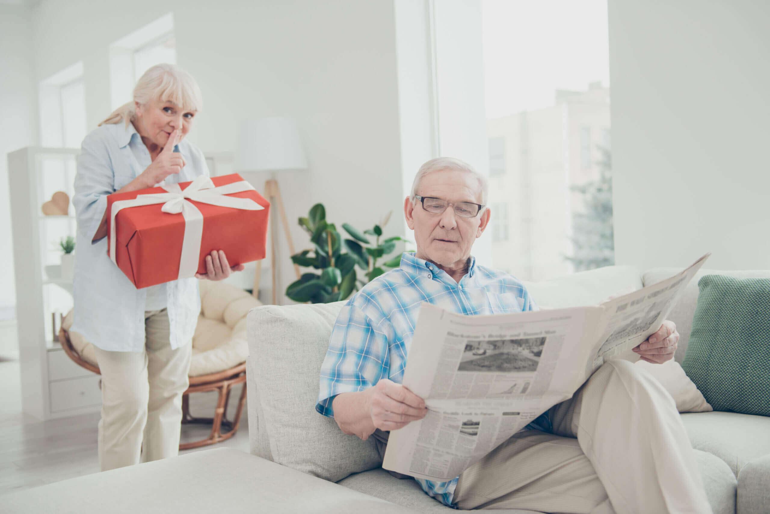 jak vybrat dárek dědečkovi